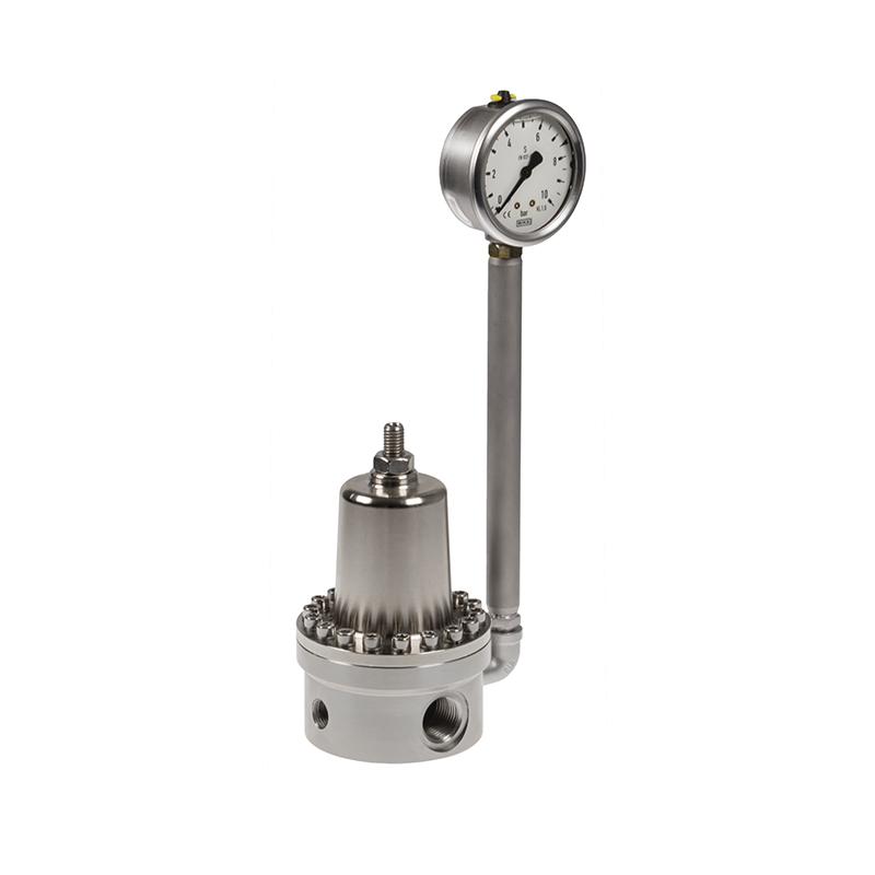 Regolatore di pressione manuale