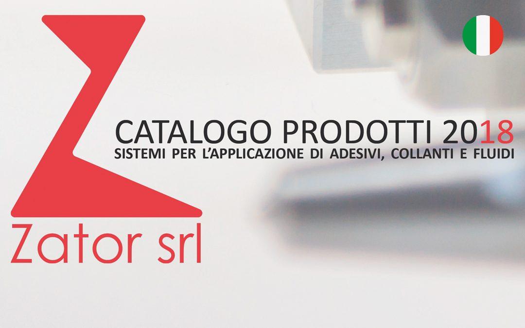 Catalogo Prodotti Zator 2018
