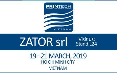 Zator @ Printech Vietnam 2019
